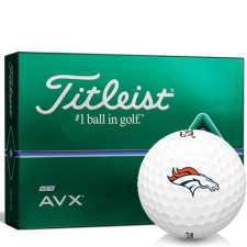 Titleist AVX Denver Broncos Golf Balls