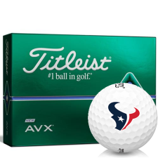 Titleist AVX Houston Texans Golf Balls