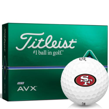 Titleist AVX San Francisco 49ers Golf Balls