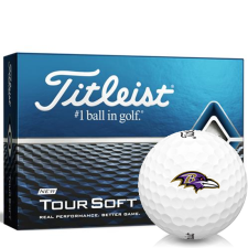 Titleist Tour Soft Baltimore Ravens Golf Balls