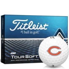 Titleist Tour Soft Chicago Bears Golf Balls