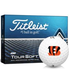 Titleist Tour Soft Cincinnati Bengals Golf Balls