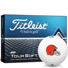 Titleist Tour Soft Cleveland Browns Golf Balls