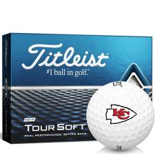 Titleist Tour Soft Kansas City Chiefs Golf Balls