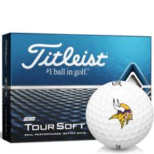 Titleist Tour Soft Minnesota Vikings Golf Balls