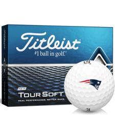 Titleist Tour Soft New England Patriots Golf Balls