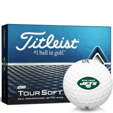 Titleist Tour Soft New York Jets Golf Balls