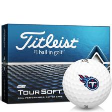 Titleist Tour Soft Tennessee Titans Golf Balls