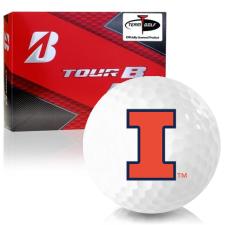 Bridgestone Prior Generation Tour B RX Illinois Fighting Illini Golf Balls