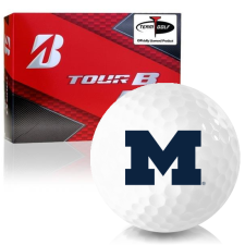 Bridgestone Prior Generation Tour B RX Michigan Wolverines Golf Balls