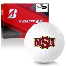 Bridgestone Prior Generation Tour B RX Midwestern State Mustangs Golf Balls