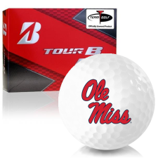 Bridgestone Prior Generation Tour B RX Ole Miss Rebels Golf Balls