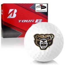 Bridgestone Prior Generation Tour B RX Oakland Golden Grizzlies Golf Balls