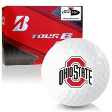 Bridgestone Prior Generation Tour B RX Ohio State Buckeyes Golf Balls