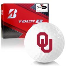 Bridgestone Prior Generation Tour B RX Oklahoma Sooners Golf Balls