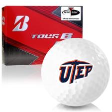 Bridgestone Prior Generation Tour B RX Texas El Paso Miners Golf Balls