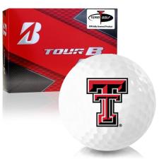 Bridgestone Prior Generation Tour B RX Texas Tech Red Raiders Golf Balls