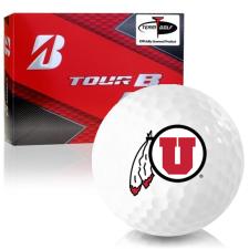 Bridgestone Prior Generation Tour B RX Utah Utes Golf Balls