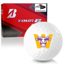 Bridgestone Prior Generation Tour B RX Williams College Ephs Golf Balls