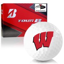 Bridgestone Prior Generation Tour B RX Wisconsin Badgers Golf Balls