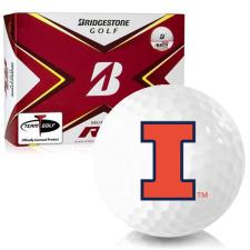 Bridgestone Tour B RX Illinois Fighting Illini Golf Balls