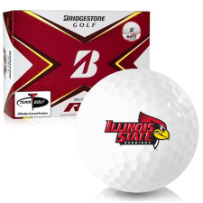 Bridgestone Tour B RX Illinois State Redbirds Golf Balls