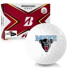 Bridgestone Tour B RX Maine Black Bears Golf Balls