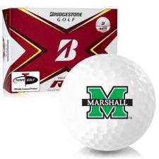 Bridgestone Tour B RX Marshall Thundering Herd Golf Balls