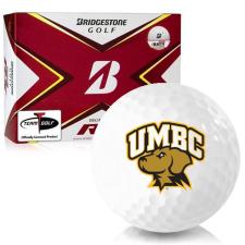 Bridgestone Tour B RX Maryland Baltimore County Retrievers Golf Balls