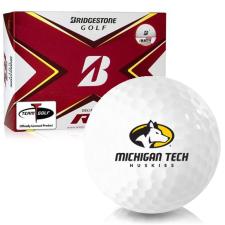 Bridgestone Tour B RX Michigan Tech Huskies Golf Balls