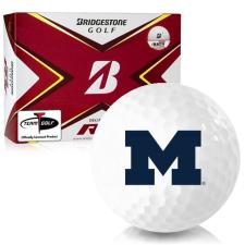 Bridgestone Tour B RX Michigan Wolverines Golf Balls