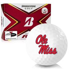 Bridgestone Tour B RX Ole Miss Rebels Golf Balls