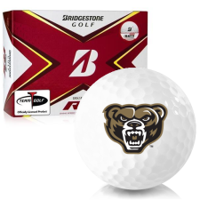 Bridgestone Tour B RX Oakland Golden Grizzlies Golf Balls