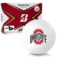 Bridgestone Tour B RX Ohio State Buckeyes Golf Balls