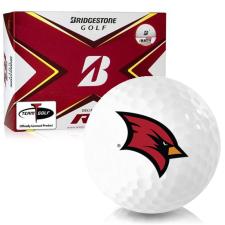 Bridgestone Tour B RX Saginaw Valley State Cardinals Golf Balls