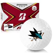 Bridgestone Tour B RX San Jose Sharks Golf Balls