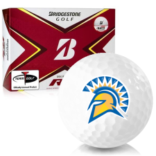 Bridgestone Tour B RX San Jose State Spartans Golf Balls