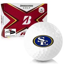 Bridgestone Tour B RX Southeastern Oklahoma State Savage Storm Golf Balls