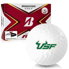 Bridgestone Tour B RX South Florida Bulls Golf Balls