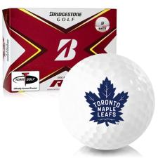 Bridgestone Tour B RX Toronto Maple Leafs Golf Balls