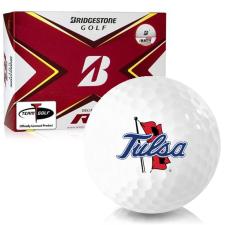 Bridgestone Tour B RX Tulsa Golden Hurricane Golf Balls