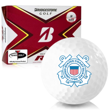 Bridgestone Tour B RX US Coast Guard Golf Balls