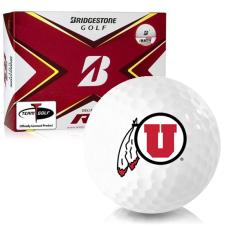 Bridgestone Tour B RX Utah Utes Golf Balls