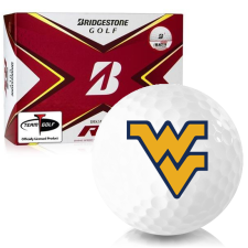 Bridgestone Tour B RX West Virginia Mountaineers Golf Balls