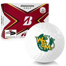 Bridgestone Tour B RX William & Mary Tribe Golf Balls