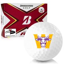 Bridgestone Tour B RX Williams College Ephs Golf Balls