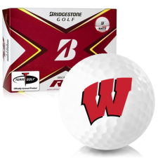 Bridgestone Tour B RX Wisconsin Badgers Golf Balls