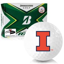 Bridgestone Tour B RXS Illinois Fighting Illini Golf Balls