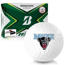 Bridgestone Tour B RXS Maine Black Bears Golf Balls