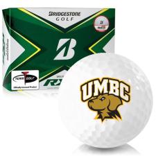 Bridgestone Tour B RXS Maryland Baltimore County Retrievers Golf Balls